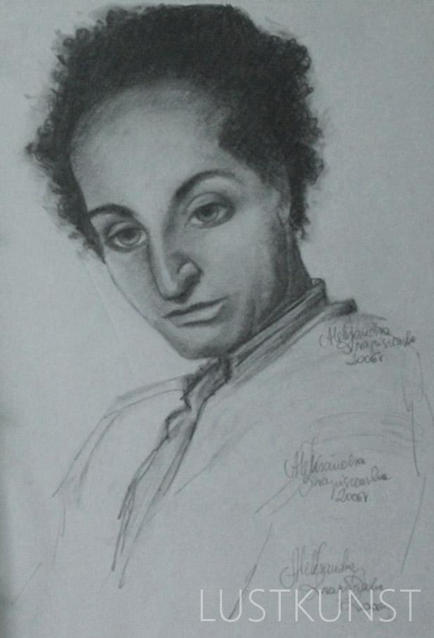 Portret w ołówku2