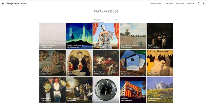 Sztuka w czasach pandemii, cz. I: Google Arts &Culture