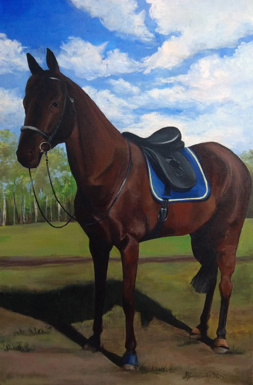 Koń ma cztery nogi. Po jednej na każdymrogu…