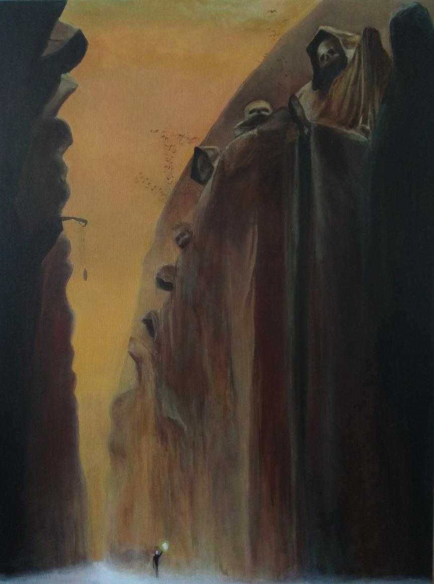 """""""Malować śmierć, żeby choć na chwilę o niej zapomnieć"""""""